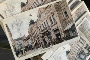 В Ужгороде создали открытки с изображением утраченных исторических сооружений