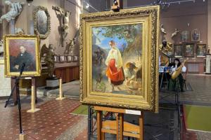 У Франківську відкрилася виставка оригінальних творів Тараса Шевченка