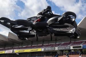 Японія представила летючий мотоцикл