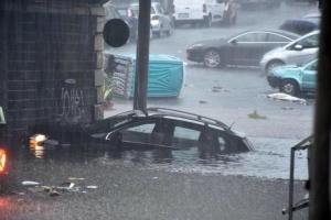 На Сицилії після буревію сталася повінь