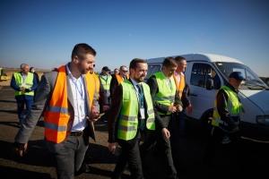 Заступник керівника ОП ознайомився із реконструкцією аеропорту «Херсон»