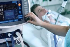 Запорізька інфекційна лікарня отримала 11 апаратів ШВЛ