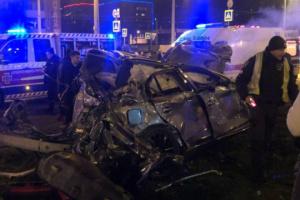 У Харкові водій Infiniti намагався після ДТП втекти з лікарні і обдурити поліцію
