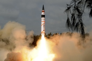 Індія випробувала міжконтинентальну балістичну ракету