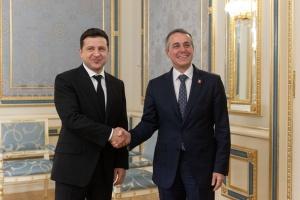 Зеленський обговорив з главою МЗС Швейцарії підготовку до Конференції з питань реформ