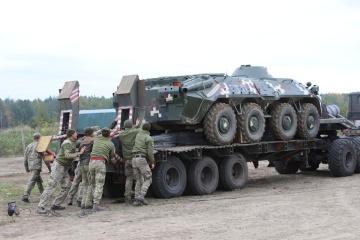 Terminan los ejercicios militares Rapid Trident 2021 en Ucrania