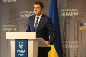 Razumkov suspended from holding parliament meetings