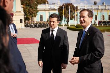 Selenskyj trifft sich mit dem Präsidenten Israels