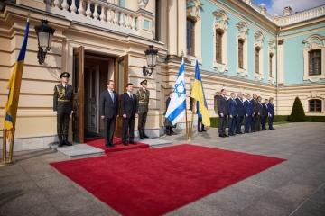 Ukraine-Israel trade growing after launch of free trade area - Zelensky