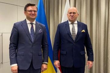 Kuleba sichert sich Unterstützung Polens während seines Vorsitzes in OSZE 2022