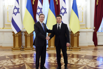 Zelensky, Herzog discuss security challenges posed by Russia's aggression against Ukraine