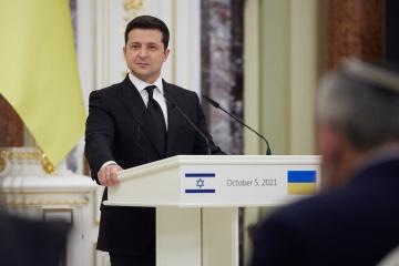 Ukraine rechnet mit Unterstützung Israels in Bezug auf UN-Resolution über die Krim - Selenskyj
