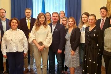 Dzheppar meets with Ukrainian community in Geneva