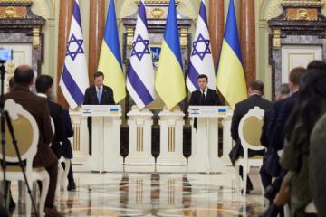 Presidentes de Ucrania e Israel han hecho una declaración conjunta
