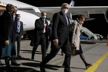 Presidente de Alemania ha llegado a Kyiv