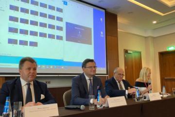 Trójkąt Lubelski - Ukraina, Polska i Litwa omówili wzmocnienie bezpieczeństwa w regionie