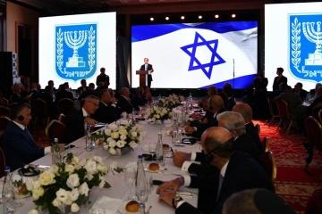 President of Israel meets with representatives of Ukraine's Jewish community