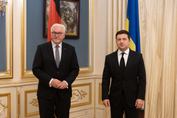 Zelensky se reúne con el presidente de Alemania