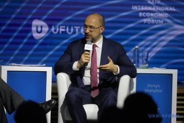 Premier Schmyhal prognostiziert BIP-Wachstum der Ukraine um 4 Prozent