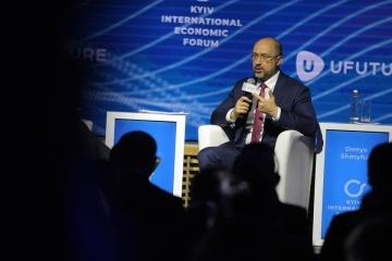 Shmygal prevé un crecimiento del PIB de Ucrania del 4% para el fin de año