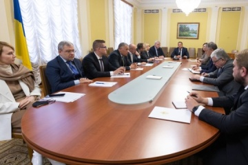 Yermak holds first meeting of special group to counter threats to energy sector