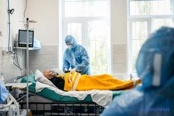 Ukraine reports 13,624 new COVID-19 cases