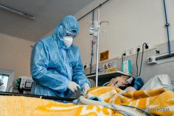 Ucrania notifica 9.524 nuevos casos de COVID-19