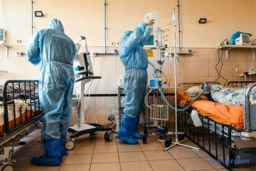 L'Ukraine signale 8 832 nouveaux cas de coronavirus