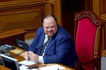 MPs elect Stefanchuk as Ukrainian parliament speaker