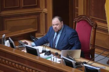 Stefanchuk nombrado nuevo presidente de la Rada