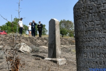 Ukraine to cooperate with United States to preserve Jewish heritage sites