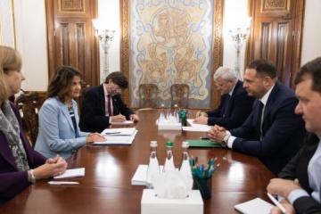 Yermak y Dunnigan discuten las amenazas de Nord Stream 2
