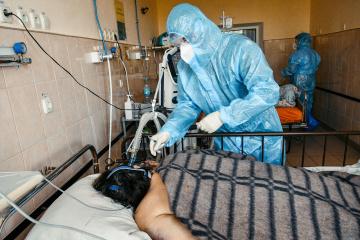 Ukraine meldet 8.832 neue Coronavirus--Fälle