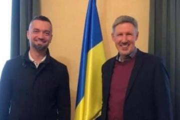 Representante del CMU y director del Instituto Ucraniano discuten áreas prioritarias de cooperación