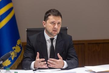 ゼレンシキー大統領、独首相・仏大統領と電話会談実施