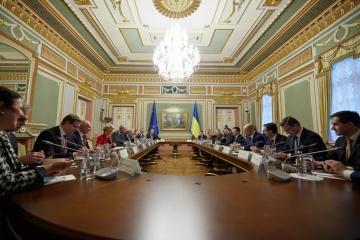 Cumbre Ucrania-UE: Ucrania y la Unión Europea fortalecerán la cooperación política y económica
