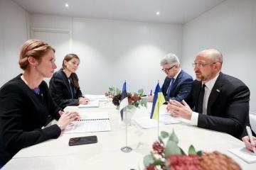 In Schweden trifft sich Schmyhal mit estnischer Premierministerin