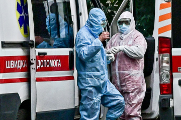 Ukraine reports 18,881 new COVID-19 cases