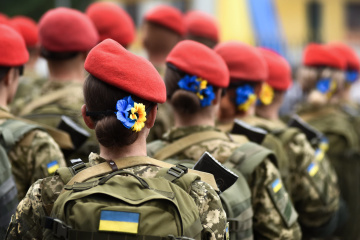 President's wife: More than 31,000 defendresses safeguarding peace in Ukraine