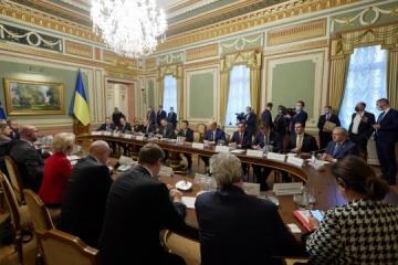 Le premier ministre Chmygal remercie l'UE pour 600 millions d'aide