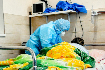 Corona: In der Ukraine 12.983 Neuinfektionen registriert