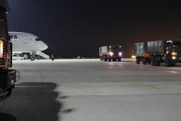 Ucrania recibe el segundo lote de ayuda de seguridad de EE.UU.