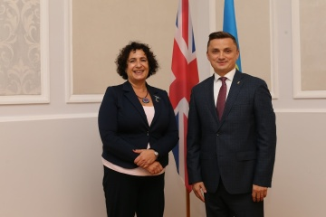 Britische Botschafterin besucht Region Ternopil