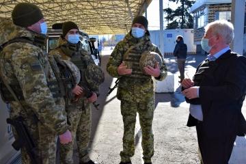 EU Special Representative Gilmore visits JFO area