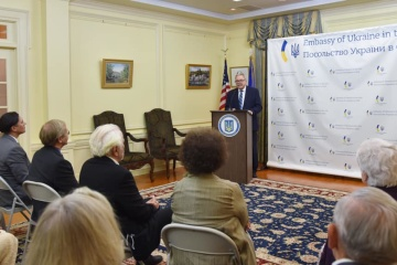 Marynovych meets with Ukrainian community in United States