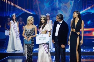 Olexandra Yaremtchouk élue Miss Ukraine 2021