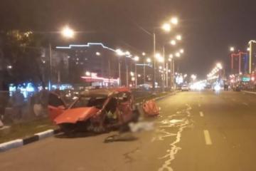 Kharkiv : un mort et trois blessés graves dans un accident de la route