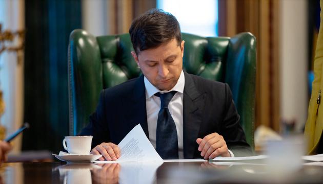 Volodymyr Zelensky signe la loi sur la réforme d'Ukroboronprom