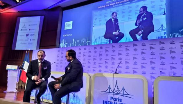 Ucrania presenta su potencial de inversión en un foro en París
