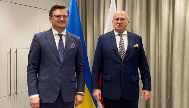 Кулеба заручився підтримкою Польщі під час її головування в ОБСЄ у 2022 році